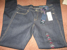 NEW WITH TAG, TOMMY GIRL DENIM JEANS,  BOOT CUT, STRETCH,   SIZE 5 R