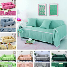 1/2/3/4 Universal Sofa Cover Towel Couch Protector Fabric Slipcovers Decoration
