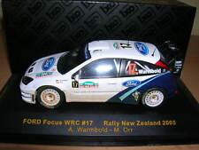 Ixo Ford Focus WRC RALLY New Zealand 2005 A.WARMBOLD - con ORR 1:43 , #17 Rally