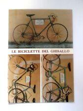 Cartolina SANTUARIO DEL GHISALLO Madonna dei Ciclisti LE BICICLETTE DEI CAMPIONI