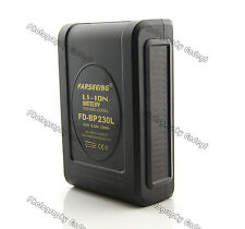 New FARSEEING V Mount 14.8V 230WH Li-ion Battery for Broadcast Video Camera