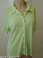 Maglie e camicie da donna verde viscosa business
