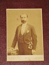 Photo cabinet de SADI CARNOT, photographe Pierre Petit & Fils 1901 .