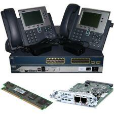 Cisco Voice Collaboration Lab Kit 2811 Cme w/ Fxo Pvdm2 Card 3560 7942 Ccna Ccnp