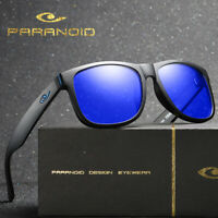 PARANOID Polarized Sunglasses Men Women Retro Classic Running Driving Glasses