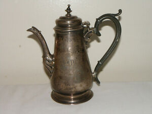 STERLING SILVER TEA POT 1739 George Boothby London