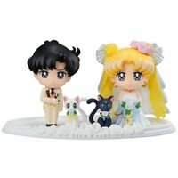 Sailor Moon 25th Petit Chara pretty guardian Happy Wedding mini Figure Toy Gifts