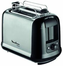 Moulinex LT2618 Subito 2 slice 850W Stainless Steel Toaster