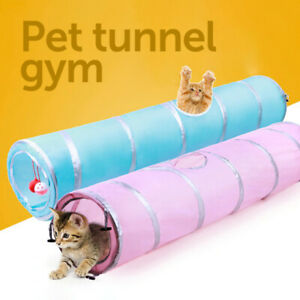 Indoor Cat Tunnel Ferret Tube Gym Active Pets Multi Way Rabbits Collapsible Toys