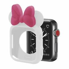 Silicona Suave TPU Reloj De Moda Lindo Ratón Funda Protectora Cubierta para Apple Watch