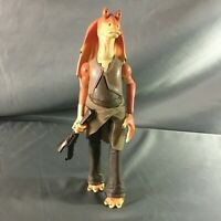 Vintage 1999 Hasbro Star Wars Jar Jar Binks Action Figure 11""
