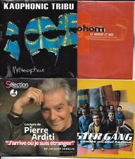 LOT 8 SINGLES VF COLLECTOR PROHOM/DOC GYNECO/KAOPHONIC TRIBU/BP ZOOM/ARDITI