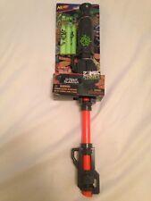 Rare Nerf Blowgun Blow Dart Blaster Gun N-Strike Zombie Strike Blowdart
