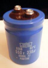 1-NIPPPON CHEMI-CON 550v 330uF U36DV Hard To Find **Brand New**