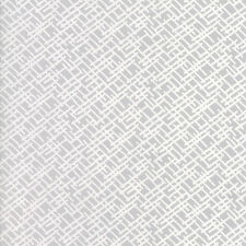 WHISPERS MUSLIN MATES White Crossroad Moda Quilt Fabric by the 1/2 yd #33138-11