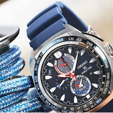 Seiko Solar Prospex World Time Watch SSC489P1