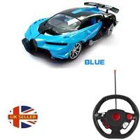 Remote Radio Control Bugatti Vision GT Toy Car With Rechargeable &  Gravity Sens