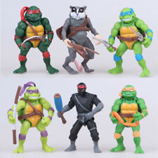 6Pc Teenage Mutant Ninja Turtles 2nd Action Figures Classic Collection Toys Usa