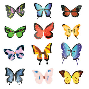 Cake Toppers Butterfly Cupcake Toppers One Dozen