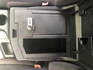 07-13 Toyota Tundra OEM Center Console Safe Gun Storage w/ Tray 00016-79184