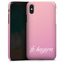 Apple iPhone Xs Premium Case Cover - Girly FC Bayern - FCB