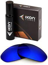 Polarized IKON Iridium Replacement Lenses For Oakley Unknown Deep Blue Mirror