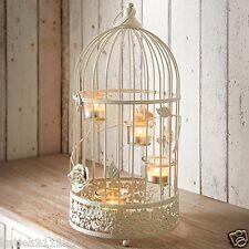 New wedding table centrepiece vintage large birdcage tealight holder lantern