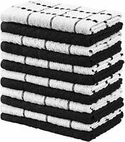 Utopia Towels 12 Pack Kitchen Towels, 15 x 25 Inches Cotton Dish Towels, Tea Tow