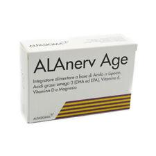 Alanerv Âge 20 Cps Complément Alimentaire pour Fatigue Système Immunitaire