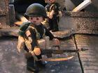 PLAYMOBIL CUSTOM US.PFC.2ND RAIDER BATTALION (MAKIN ISLAND-1942) REF-0185 BIS