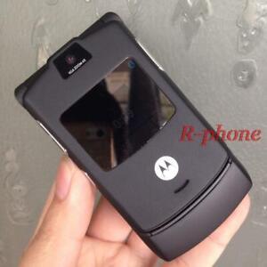 Motorola RAZR V3 - Original Retro Flip Cellphone full set (10 colors available).