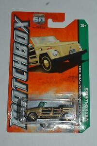 2012 Matchbox '74 Volkswagen Type 181 60Th Anniversary #82 Bronze Color Diecast