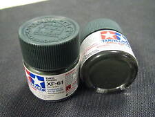 "Tamiya ""Mini"" Acrylic model paint - XF-61 81761 Dark Green (flat)"