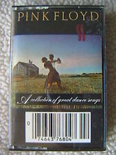 "PINK FLOYD ""A COLLECTION OF GREAT DANCE SONGS""  CASSETTE 1981"