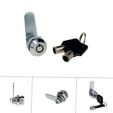 Drawer Tubular Cam Lock Keyed Different for Door Mailbox Cabinet Tool Hardware