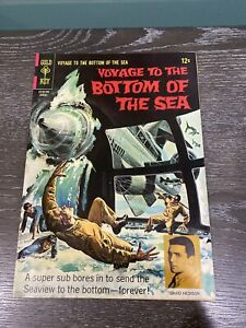 VOYAGE TO THE BOTTOM OF THE SEA  AUG 1967 #9 GOLD KEY COMIC BOOK Excellent Cond