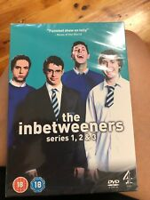 The Inbetweeners Series 1-3 DVD Box Set BRAND NEW UNOPENED