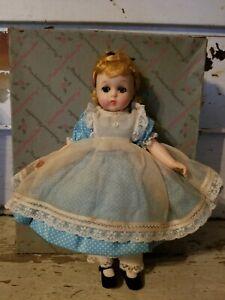 MADAME ALEXANDER VINTAGE HARD PLASTIC LISSY LITTLE WOMEN Amy 1225 Original Box!