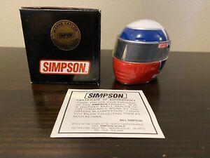 Wayne Taylor Signature Edition Simpson IMSA Mini Helmet 1/4 SCCA