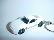NEW 3D NISSAN 370Z CUSTOM KEYCHAIN keyring key White racing finish race z nismo