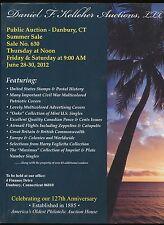DANIEL F. KELLEHER STAMP AUCTION CATALOG SALE NUMBER 630 JUNE 28-30, 2012