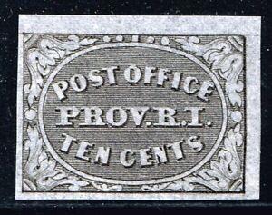 10X2 10c Providence R.I. provisional VF,NG. PFC Scott $700.