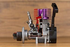 Cutaway Sectioned Display HPI 15FE Nitro Engine