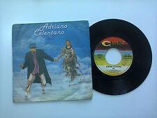 """Adriano Celentano / Soli - Disco Vinile 45 Giri 7"""" Stampa Italia 1979"""
