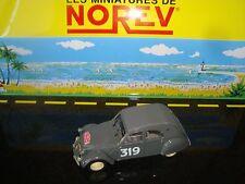 MINIATURE CITROEN 2 CV AZ 1954 RALLY MOUNTED CARLO 1/43 NIB