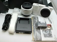 Samsung Nx1000 Digital Camera with 20-50mm Lens + all Accessories Store Display