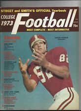 1973 Street and Smith's College Football Yearbook  near mint  (see scan)