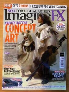 IMAGINE FX + Download CREATE CONCEPT ART February 2021 BLADE RUNNER  DUNE New