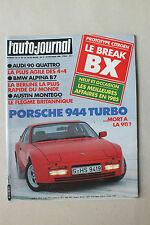 L AUTO JOURNAL - BIMENSUEL N° 3 - 15 FEVRIER 1985 *