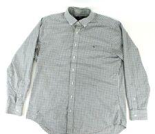Mens Vineyard Vines Slim Fit Tucker Long Sleeve Gray Shirt Plaid Size Large L